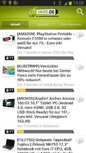 Snipz.de - dein Schn'APP'chen - screenshot thumbnail