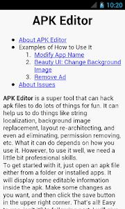 APK Editor v1.4.0