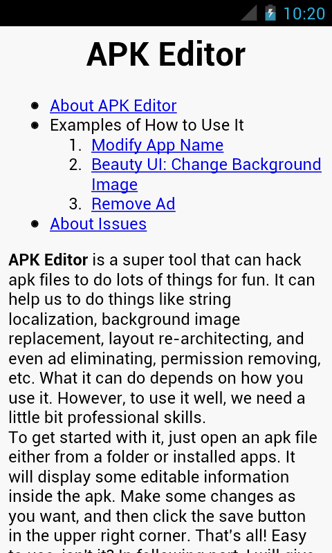 APK Editor- screenshot