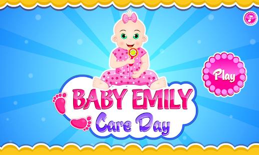 宝贝艾米丽的护理日
