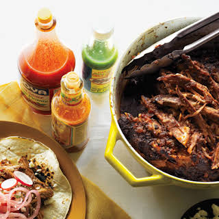 Chile-Braised Pork Shoulder Tacos.