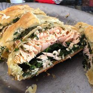Puff Pastry Salmon.