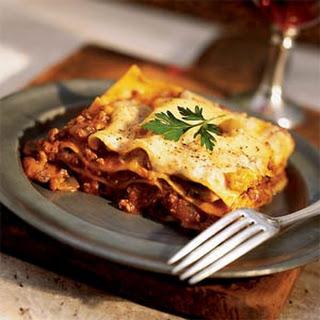 Lazy Lasagna Bolognese.