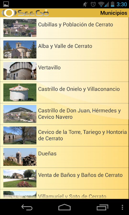 Comarca del Cerrato Palentino- screenshot
