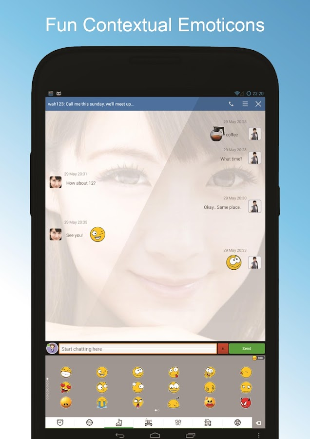 DroidMSG - Chat & Video Calls- screenshot