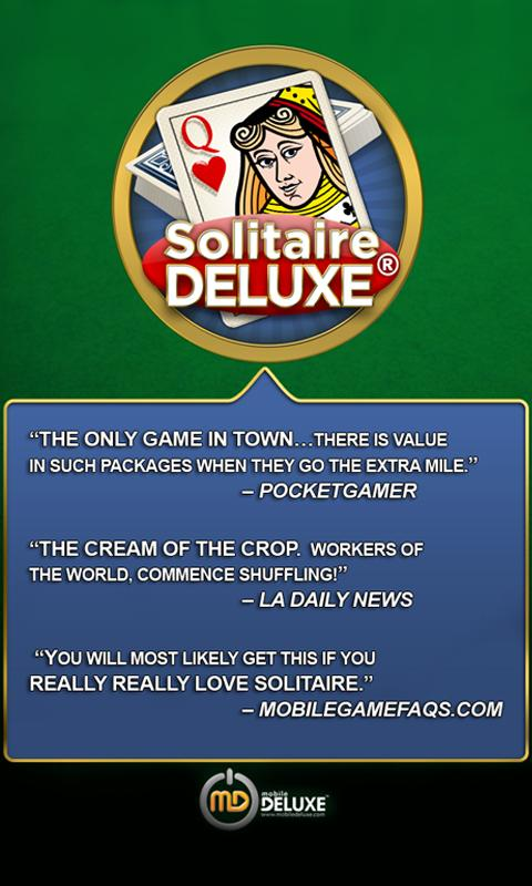 Solitaire Deluxe® (Ad-Free)- screenshot