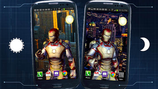 Iron Man 3 Live Wallpaper Screenshot