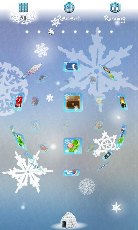 Winter Theme- screenshot