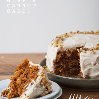Hippie Carrot Cake (Vegan)