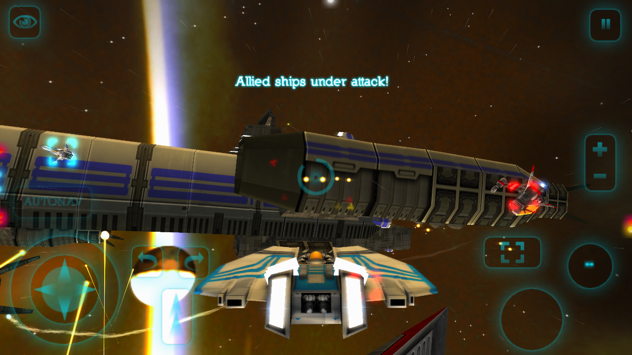 No Gravity - Space Combat Adventure- screenshot
