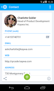 QR Code Reader from Kaywa- screenshot thumbnail
