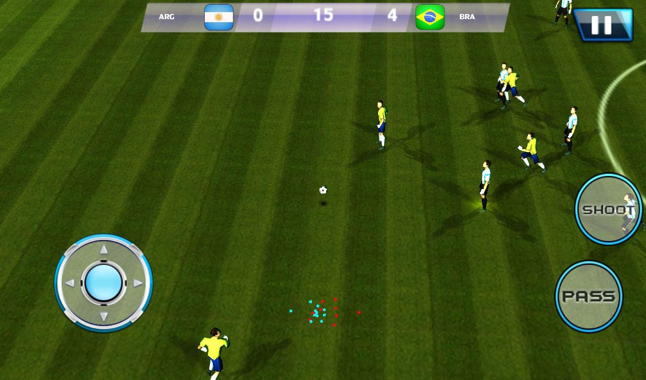 Download best football or soccer games for android in 2014 - Football League Real Soccer Screenshot