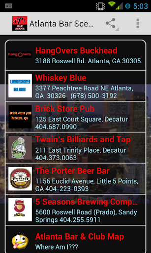 Atlanta Bar Scene