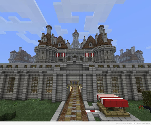 Castle House Ideas - Minecraft
