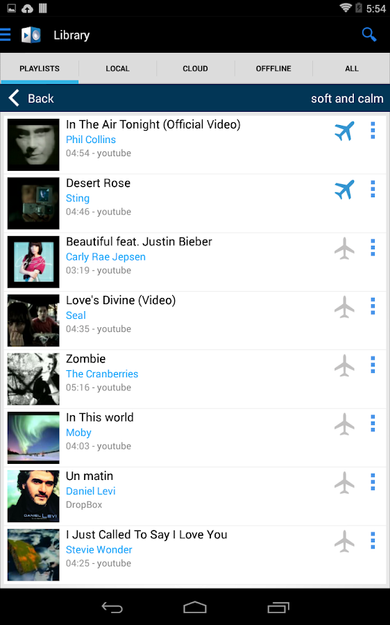 YOUZEEK Free Music Streaming- screenshot