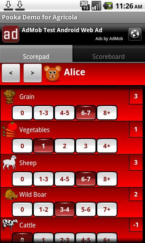 Pooka Demo for Agricola- screenshot
