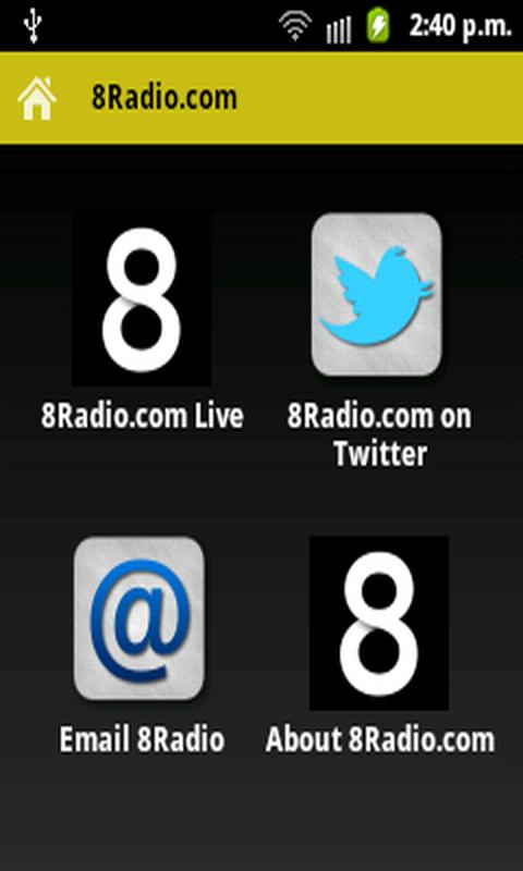 8Radio.com- screenshot