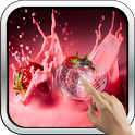 Strawberries And Cream 3D LWP icon