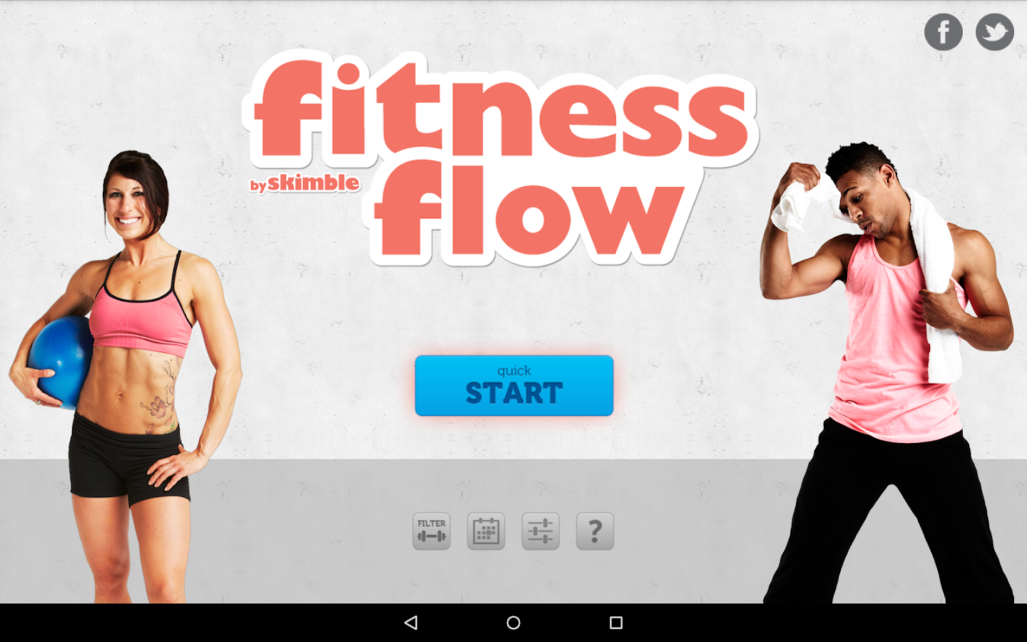 Fitness Flow - screenshot