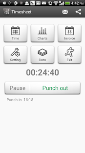 Timesheet (Paid)- screenshot thumbnail