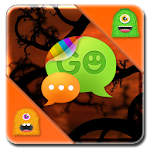 Monster Halloween GO SMS Theme