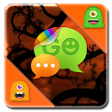 Monster Halloween GO SMS Theme icon