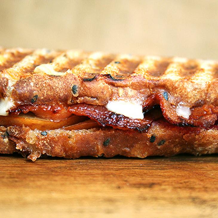 Bacon, Cheddar and Pear Panini Recipe