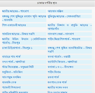 Tour Spots in Dhaka screenshot 0