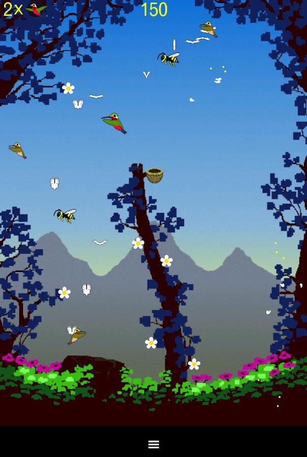 Hummingbird Game - screenshot