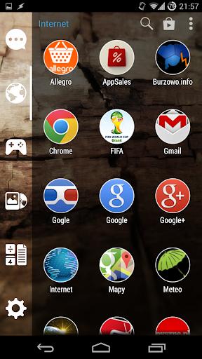 【免費個人化App】Zoomed White Circle-APP點子