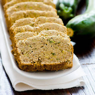Healthy Moist Zucchini Banana Bread.