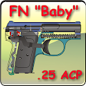 "The FN ""Baby"" pistol explained icon"
