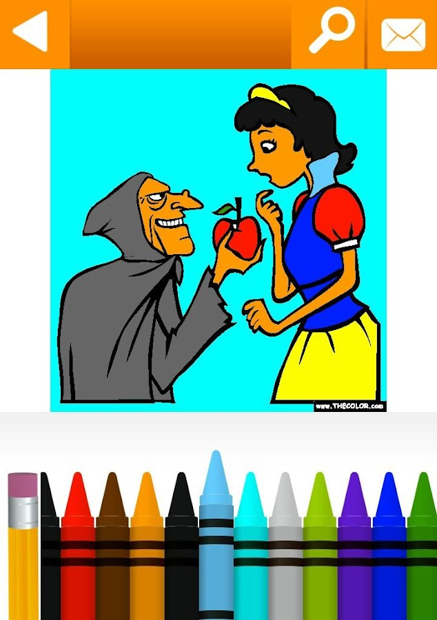 Fables Coloring Pages Free- screenshot