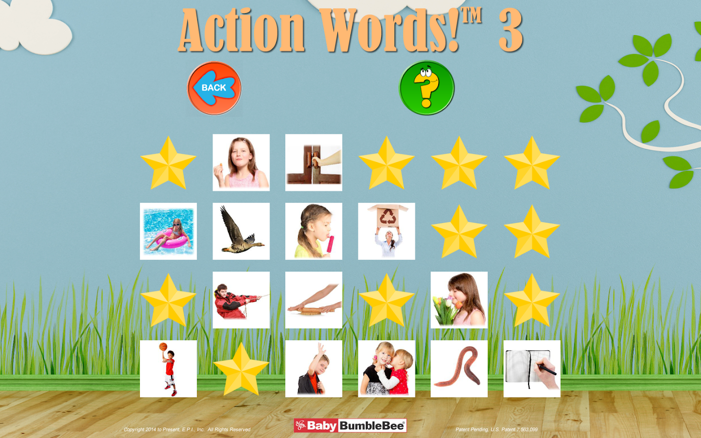 action words 3 flashcards android apps on google play action words 3 flashcards screenshot