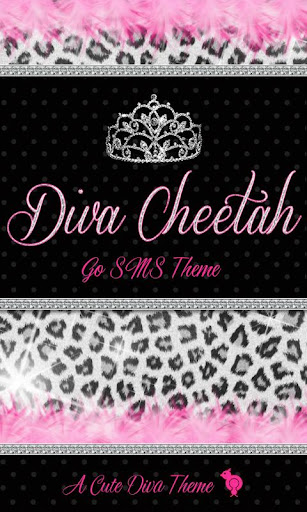 Diva Cheetah GO SMS Theme