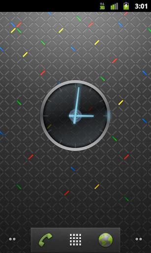Ice Cream Sandwich Clock screenshot