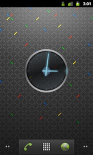Ice Cream Sandwich Clock - screenshot thumbnail