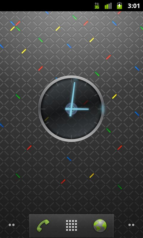 Ice Cream Sandwich Clock - screenshot