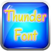The Best Thunder Fonts Galaxy
