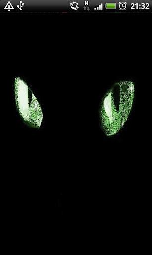 【免費個人化App】Black Cat Live Wallpaper-APP點子