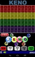 Screenshot of Keno