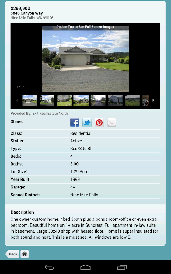 Spokane Audubon Park Homes - screenshot