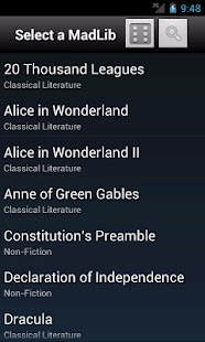Pocket MadLibs- screenshot thumbnail