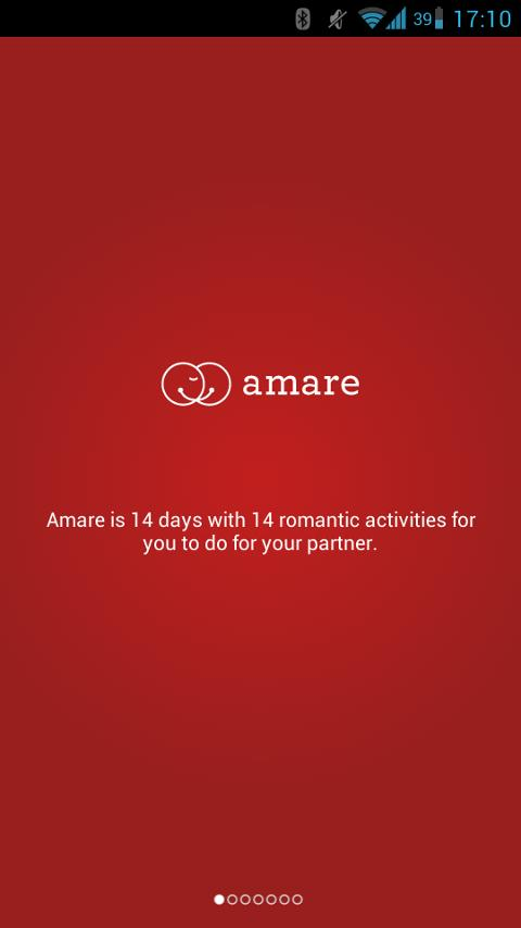 Amare - Romantic Couples Game- screenshot