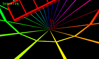 Screenshot of Spectrum Tunnel
