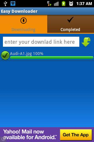 Easy Downloader - screenshot