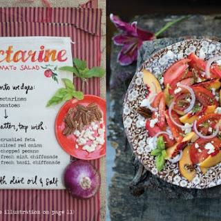 Nectarine and Tomato Salad.