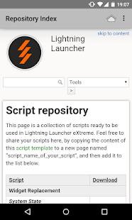Repository Importer - LLScript - náhled