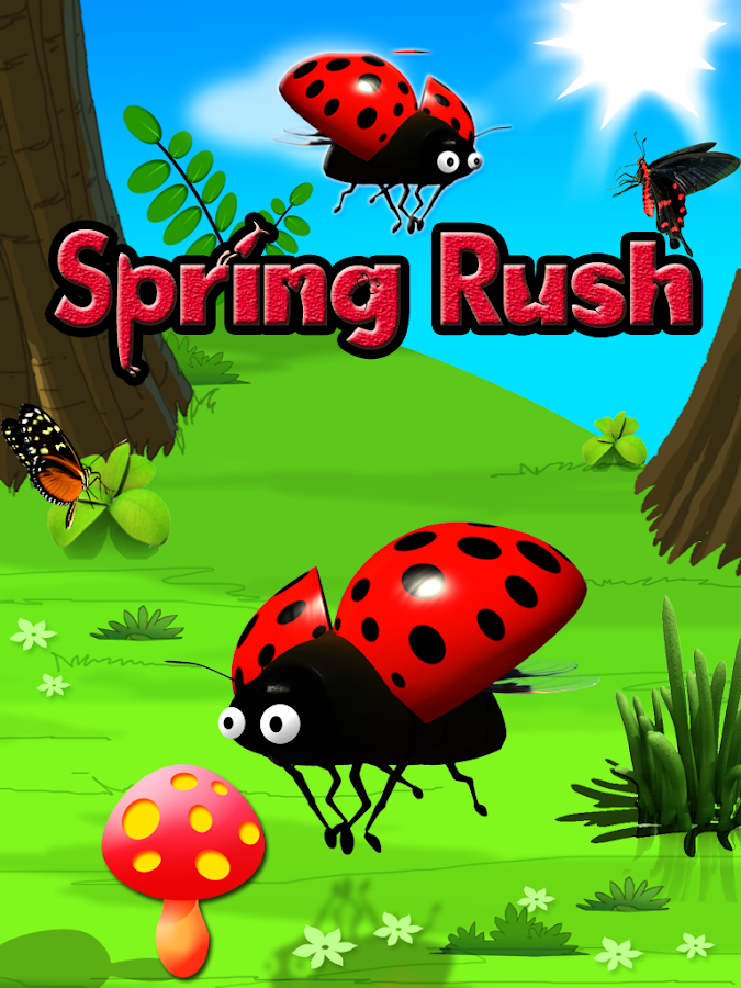 Spring Rush Free- screenshot
