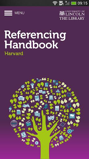 Referencing Handbook: Harvard